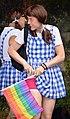 So that's where she kept her packet of fags...Dorothy, Brighton Pride 2013 (9427380019).jpg