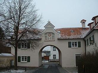 Söflingen Abbey - Abbey gate