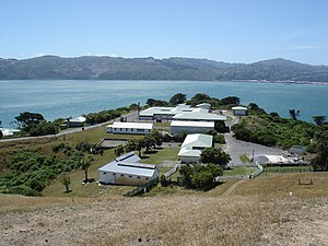 Matiu / Somes Island - NZ Department of Conservation buildings
