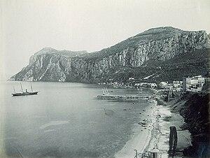 Marina Grande, Capri - Marina Grande, ca. 1880 (photograph by Giorgio Sommer)