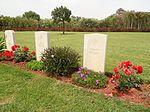 Souda Bay War Cemetry Graves of two German civilians.JPG