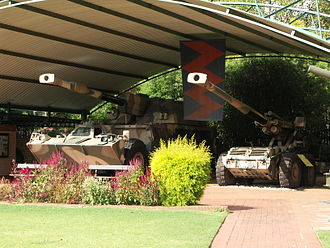 South African National Museum of Military History - Image: South African G5 and G6 001