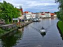 South along canal with boat May 2002 - panoramio.jpg