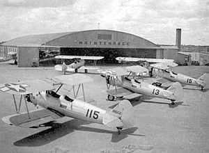 Souther Field - Maintenance hangar at Souther Field, Georgia, 1943