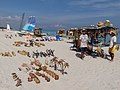 Souvenir stall on the beaches of Varadero.jpg