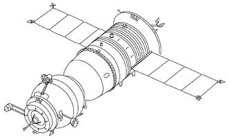 Soyuz-TM - Image: Soyuz TM drawing