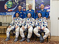 Soyuz TMA-10M crew with backup crew.jpg