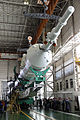 Soyuz TMA-22 spacecraft is mated with the rest of the rocket.jpg