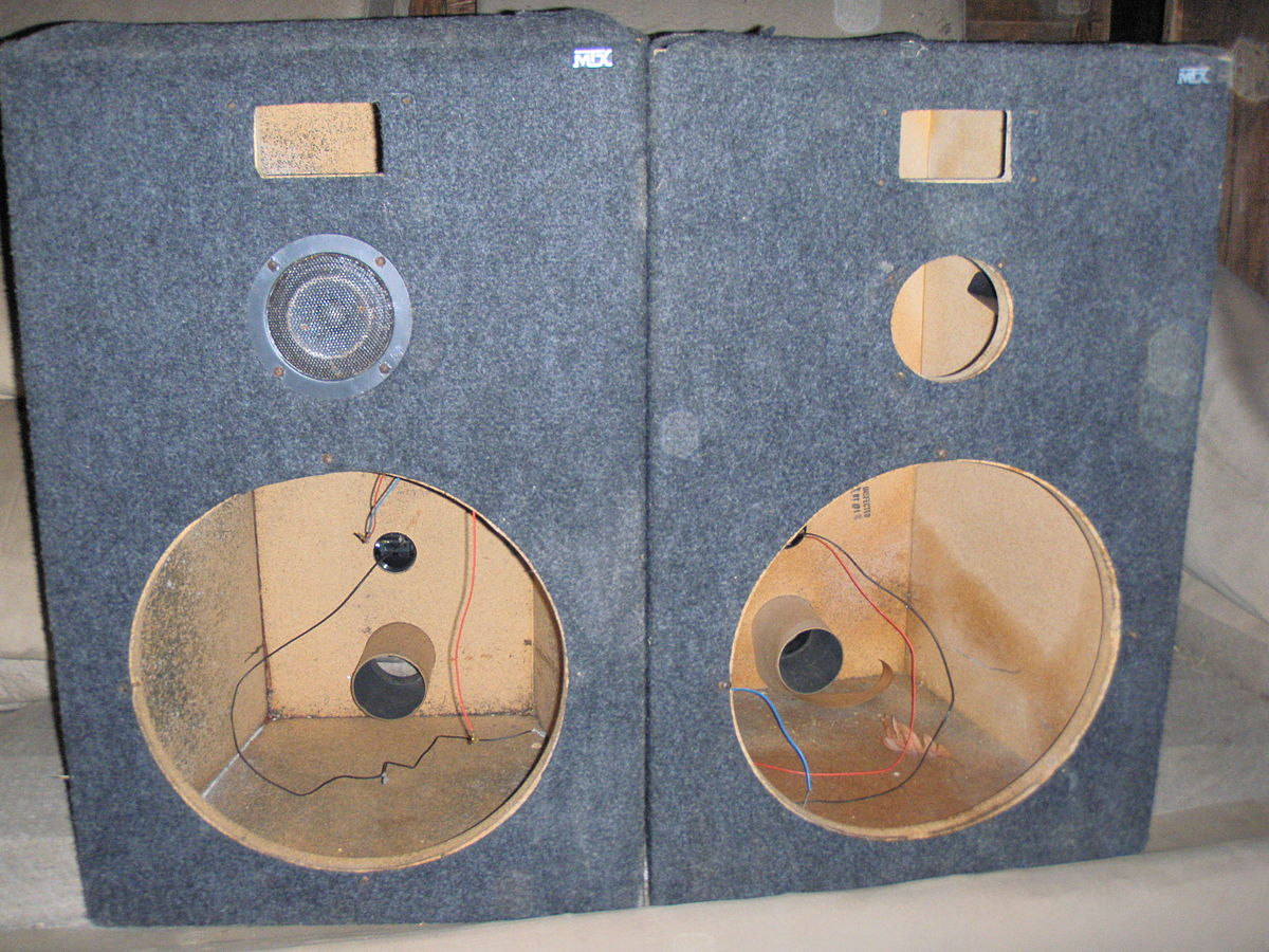 Loudspeaker Enclosure Wikipedia Subwoofer Wiring Diagram Together With Dual Voice Coil Speaker