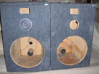 Loudspeaker enclosure Acoustical component