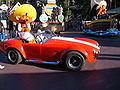 Speedy Gonzales at Celebration Parade, Six Flags Magic Mountain 2007-07 2.JPG