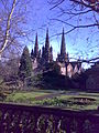 Spires of Lichfield Cathedral from the south-west.jpg