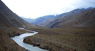 Spiti Valley - Image: Spiti River