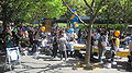 Sproul Plaza during Cal Day 2010 3.JPG