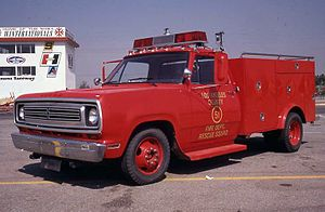 Los Angeles County Fire Department - Paramedic Rescue Squad 51 from the NBC-Universal television series, Emergency!.