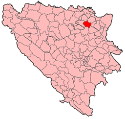 Srebrenik Municipality Location.png