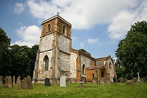 Utterby - Image: St.Andrew's, Utterby, Lincs. geograph.org.uk 179632