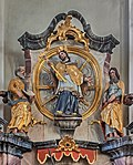 St. Georg - Mundelfingen - Left side altar 03.jpg