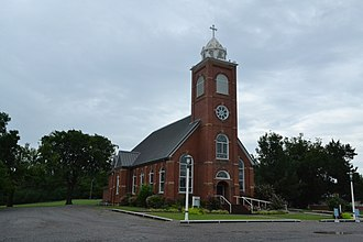 Krebs, Oklahoma - St. Joseph's Catholic Church