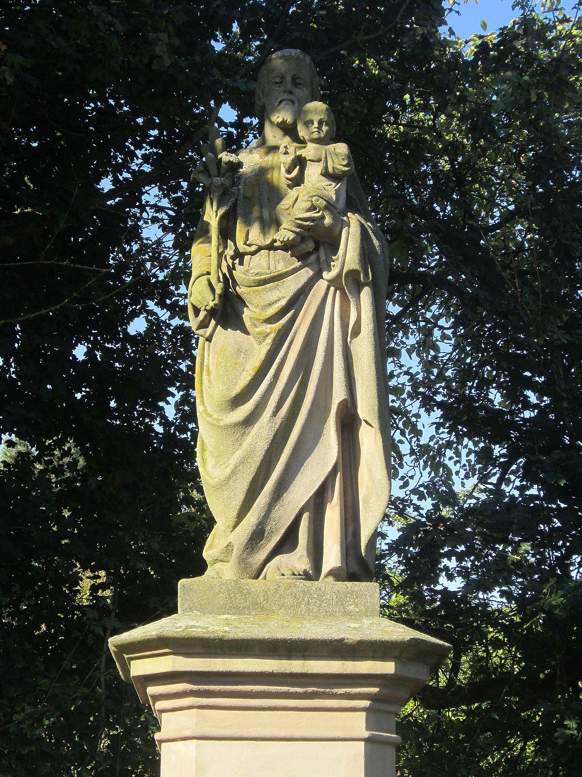 St Josef Statue Hausen –