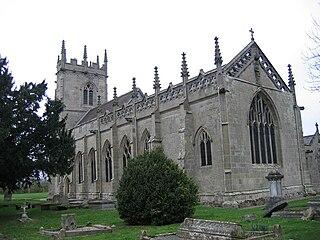 St Mary Magdalenes Church, Battlefield Church in Shropshire, England