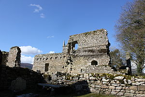 St Mullin's - Ruins of the monastery at St. Mullins