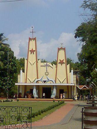 Vannappuram - Image: St. Ritha' s Church, Kaliyar
