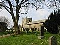St Bartholomew Kirkwhelpington in Spring - geograph.org.uk - 256431.jpg