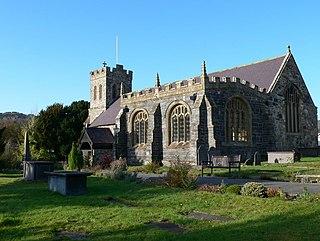 St Grwsts Church, Llanrwst Church in Conwy, Wales
