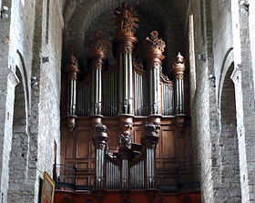 Image illustrative de l'article Orgue de l'abbaye de Saint-Guilhem-le-Désert