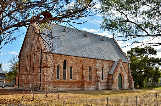 St James Anglican Church, Wilcannia, 2017 (01)