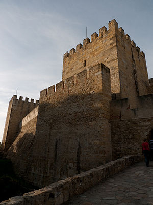 The castle of St George, Lisbon
