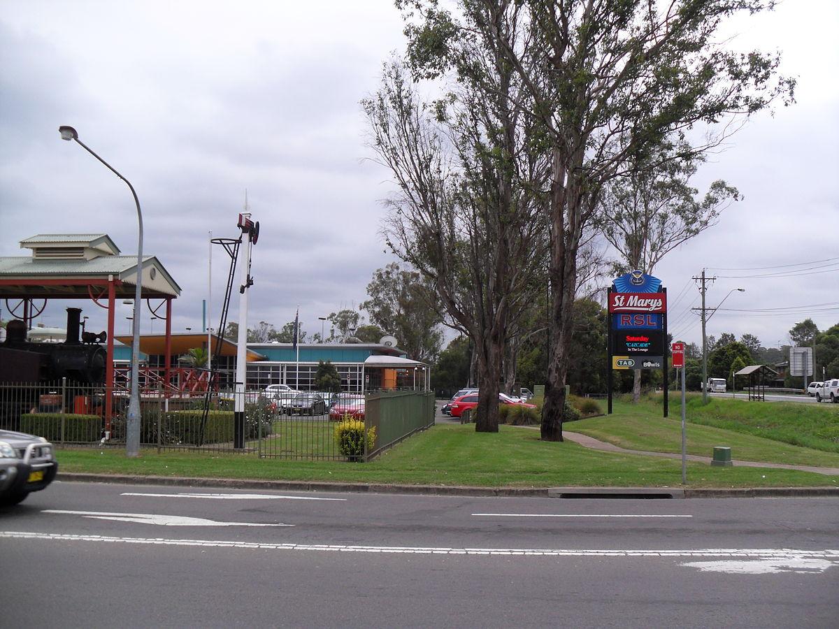 St. Marys (New South Wales) – Wikipedia
