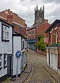 St Michael's Church over Church Street, Macclesfield.jpg