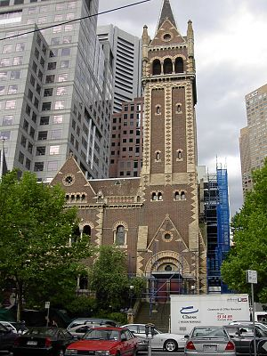 Bates Smart - Image: St Michael's Uniting Church, Melbourne (9 December 2004)