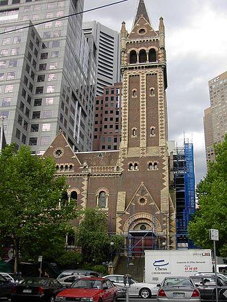 Bates Smart - Image: St Michael's Uniting Church, Melbourne (9 December 2004)