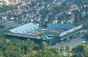 Stadion Maksimir -  Maksimir before 2011 facelifting.