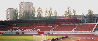 Serbian SuperLiga - Image: Stadion vojvodine 01