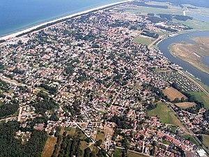 Zingst, Germany - Aerial view of Zingst