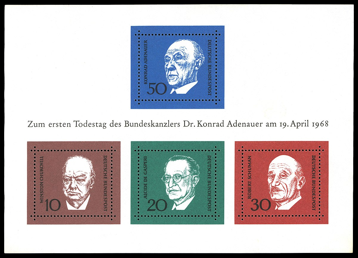 1200px Stamps of Germany BRD 1968 MiNr Block 4