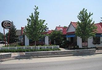 Standard Oil Gasoline Station (Plainfield, Illinois) - Standard Oil Gasoline Station building in 2011