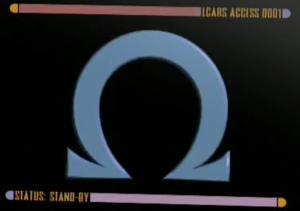 The Omega Directive - Image: Star Trek Voyager Omega Directive screen