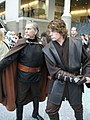 Star Wars Celebration IV - Count Dooku and Anakin Skywalker fan costumes (4878288255).jpg