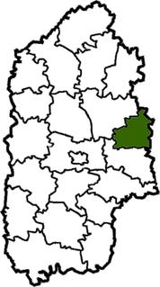 Stara Syniava Raion Former subdivision of Khmelnytskyi Oblast, Ukraine