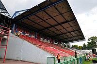Stary stadion Widzewa - trybuna A (2).jpg