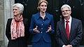 Statsminister Helle Thorning-Schmidt, Anette Vilhelmsen og Holger K. Nielsen.jpg