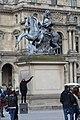 Statue Louis XIV Place Musée Louvre Paris 3.jpg