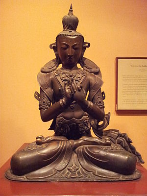 Maitreya - Statue of Maitreya Buddha in Patan Museum, Kathmandu