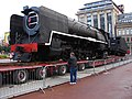Steam locomotive 3007 in George Square.jpg