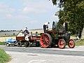 Steam traction engine, Gore Cross, Wiltshire - geograph.org.uk - 535524.jpg